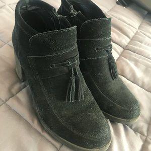 Nine West suede booties